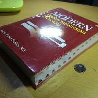 Kamus Modern English Indonesia Dictionary Hard Cover Tebal Segel Baru