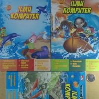 3 Buku Cerita Set Full Colour Ilmu Komputer Lengkap Baru New Segel