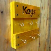 Jual Tempat Gantungan Kunci Kayu Jati Belanda Murah
