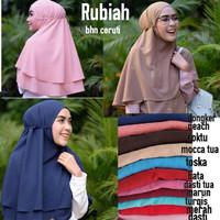 harga Rubiah Khimar Ceruti Tokopedia.com