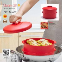 Jual Tupperware Steam It Susun 2 (Kukusan) DISKON PROMO Murah