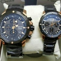 Jam Tangan Alexandre Christie Ac 6410 Couple Original