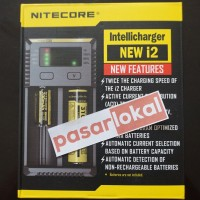 Jual Nitecore New i2 Intellicharger Universal Battery Charger 2 Slot Murah