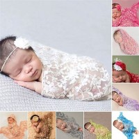 baby wrap lace for newborn photography / baby photo