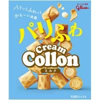Glico Pari Fuwa Cream Collon Milk Japan ver
