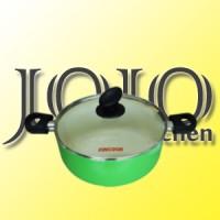 fincook panci ceramic 24 cm - green