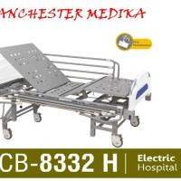 ACARE Hospital Bed Elektrik-Ranjang Pasien 3 Crank ELEKTRIK with Remot