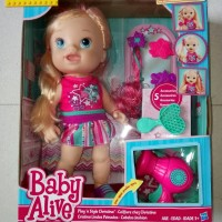 harga BABY ALIVE Play 'n Style Christina Doll Tokopedia.com
