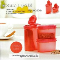 Spice T' Go (3) Tupperware