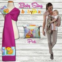 Babymix - Baby Sling - Selendang Gendongan Bayi Anak - Zoo Pals