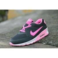 Sepatu Nike Air Max Black Pink (SOL PYLON ASLI)