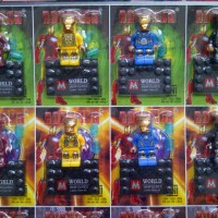 Lego Superhero Set Model Iron Man Super Hero Murah Mainan Anak Edukasi