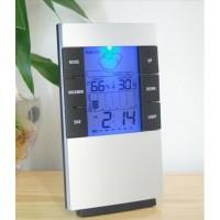 Jual Jam Meja 7 in 1 Termometer, Higrometer, WeatherForecast, Backlight Dll Murah