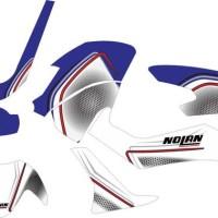 Jual Stiker Yamaha Nmax Nolan Helm Spec B Baru | Aksesoris Sticker S