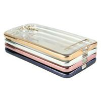 Case Asus Zenfone Pegasus 3 Max ZC520TL Jelly Case Shining Chrome