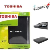 harga Hardisk eksternal Toshiba Canvio 1 TB,USB 3.0,Bergaransi 3 Tahun Tokopedia.com