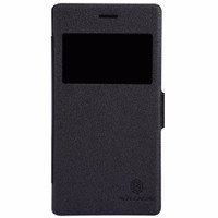 Nillkin Fresh Leather Case for Sony Xperia M2 Black