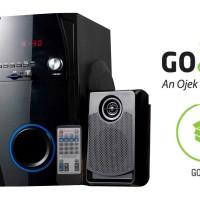 harga Speaker Multimedia Amptron Sse-3082f Hitam Tokopedia.com