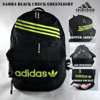 Tas Ransel Adidas Samba Black Check Greenlight