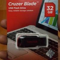 Jual USB FLASHDISK SANDISK CRUZER BLADE 32GB FLASDISK 32GB SANDISK USB Murah