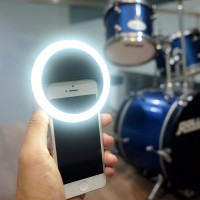 Jual RECHARGEABLE selfie ring light - LAMPU BIGO Murah