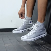 Converse Chuck Taylor All Stars Trainers Hi Top Pump Dolphin Grey