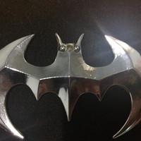 Ready stock! bat emblem batman emblem metal mobil stiker logo