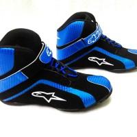 harga Sepatu Motor Drag Alpinestar (stabilo & biru) Tokopedia.com