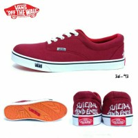 Sepatu Vans Authentic Suicidal Tendencies Maroon / Vans Maron Marun