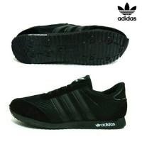 Sepatu sekolah hitam anak/Sepatu Adidas Full Black