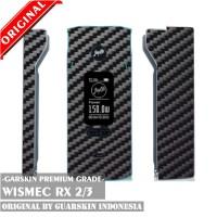 Original Garskin/Skin Mod Vape Wismec RX2/3 RX 2/3 - Carbon