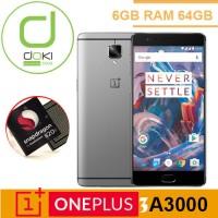 OnePlus 3 A3000 6GB RAM 64GB Oxygen Snapdrgaon 820 Garansi 1tahun