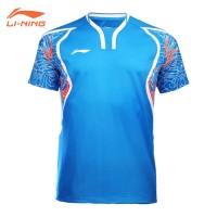 Kaos Badminton Lining Rio Olympics 2016 (Blue)