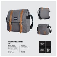 Jual Tas Selempang / Sling Bag Ravre The Postman Grey Murah