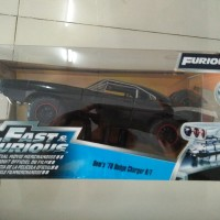Jada Fast Furious Diecast Car Dom's 70 Dodge Charger R/T Offroad 1/24