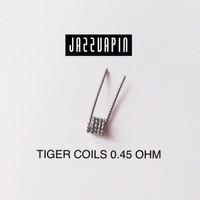 Coil TIGER 0.45 Ohm premade prebuilt vapor vape vaping
