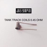 Coil TANK TRACK 0.45 Ohm premade prebuilt vapor vape vaping