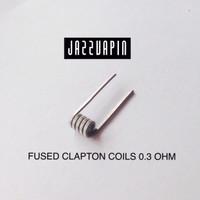 Coil FUSED CLAPTON 0.3 Ohm premade prebuilt vapor vape vaping