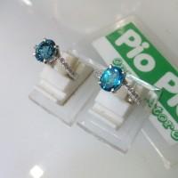 harga Cincin Perak Wanita Batu Blue Topas (london) Tokopedia.com