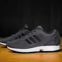 100 % Original Adidas ZX Flux Dark Grey