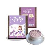MEGUMIE Taro Latte Powder - Bubuk Minuman Ubi Ungu Umbi Talas Serbuk