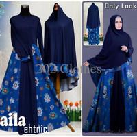 Gambar Baju Gamis Baju Muslim Baju Gamis Fashion LAILA ETHNIC Modern