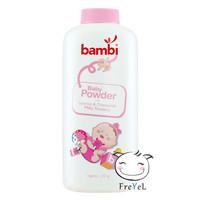 BAMBI BABY POWDER 250g PINK / POWDER PINK MILKY 250GR / BBC00406