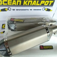 Knalpot Akrapovic Import Thailand Slip On