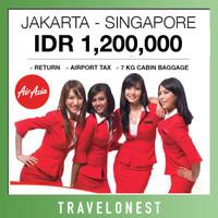 Tiket Pesawat Air Asia Promo Jakarta - Singapore Pulang Pergi Murah