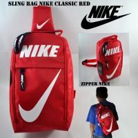 slingbag nike red   tas selempang   tas bola   tas kecil