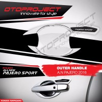 Outer Handle All New Pajero Sport 2016 Chrome