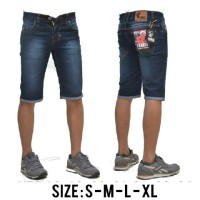 Harga celana jeans pendek pria famous blue | WIKIPRICE INDONESIA