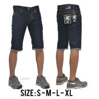 Harga celana jeans pendek pria dc blueblack | WIKIPRICE INDONESIA