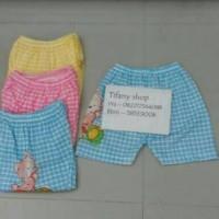 size M Celana kolor rumahan/celana pendek anak cwok cewek